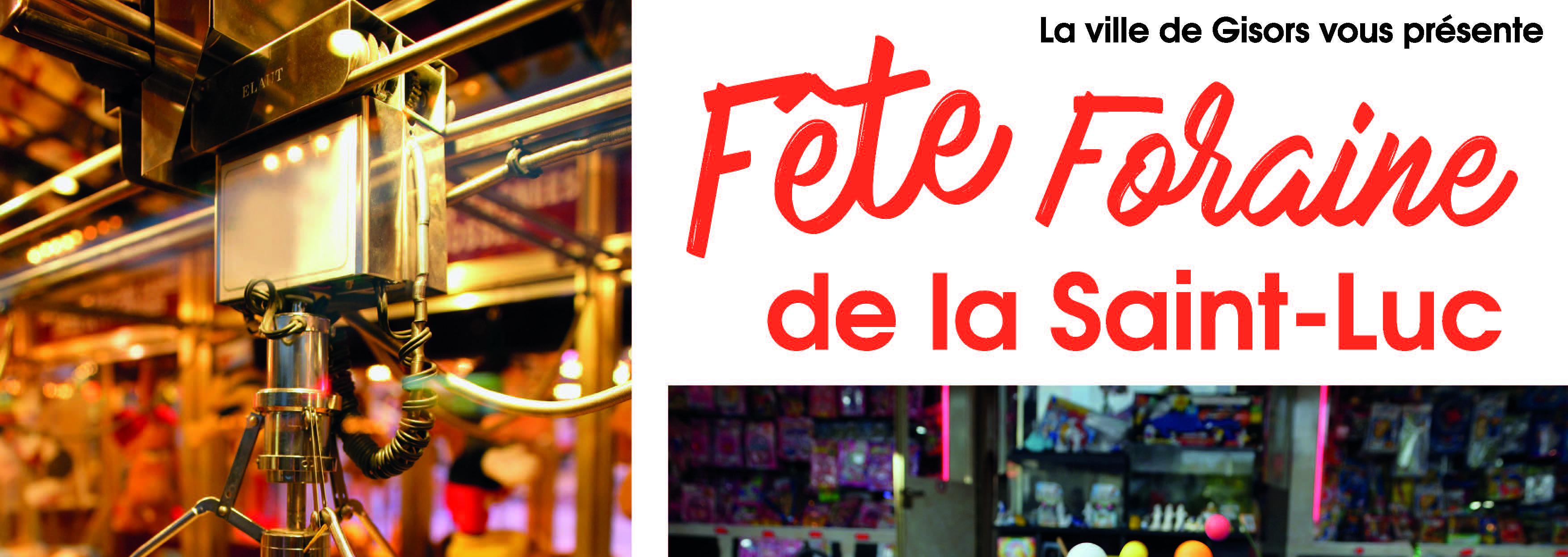 FETE FORAINE DE LA SAINT-LUC