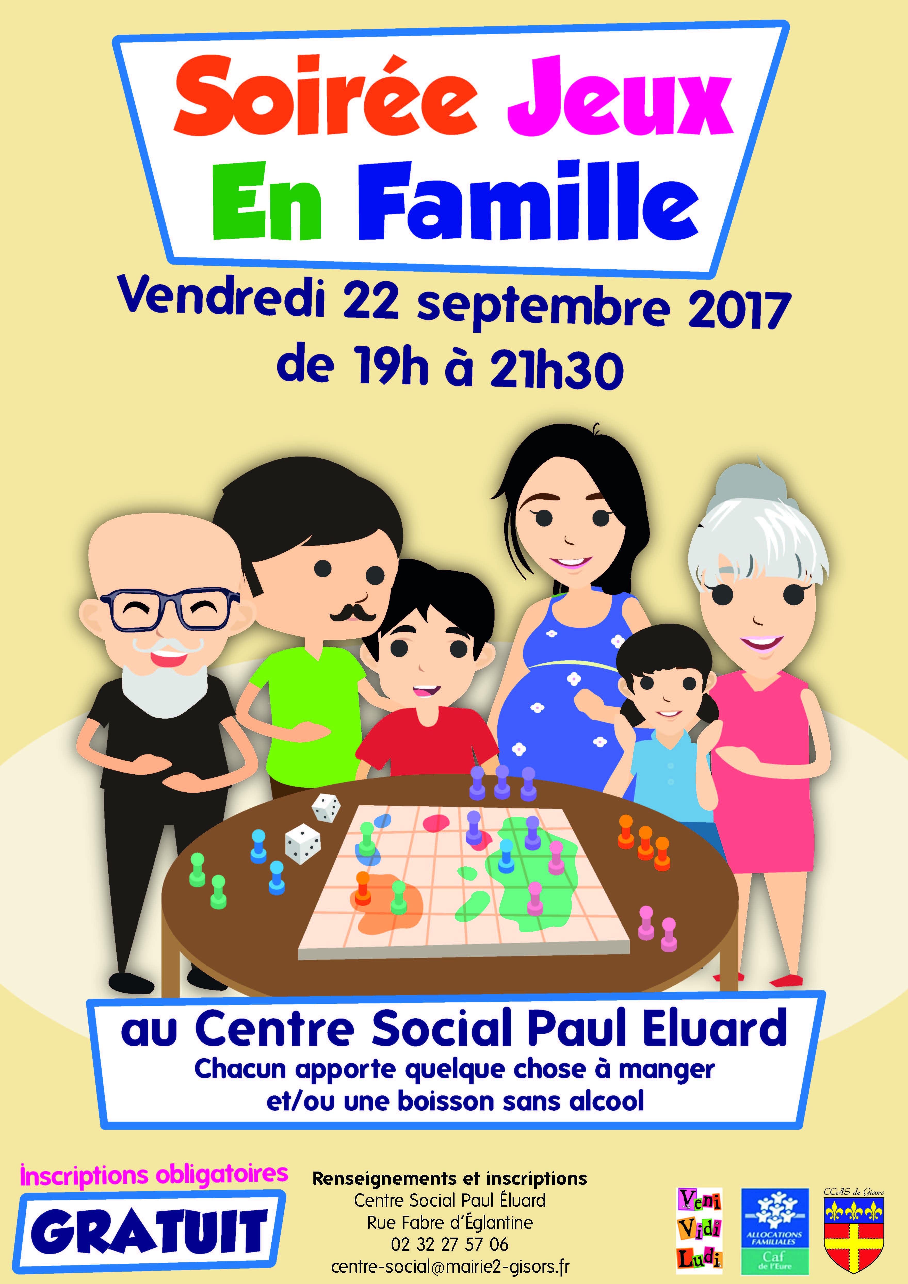 SOIREE JEUX EN FAMILLE