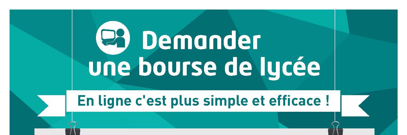DEMANDER UNE BOURSE DE LYCEE
