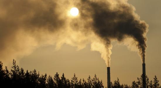 POLLUTION DE L'AIR A L'OZONE